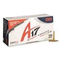CCI, .17 HMR, Varmint Tip, 17 Grain, 200 Rounds