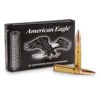 Federal American Eagle, .300 AAC Blackout, OTM, 220 Grain, 20 Rounds