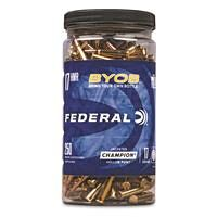 Federal BYOB, .17 HMR, JHP, 17 Grain, 250 Rounds with Bottle