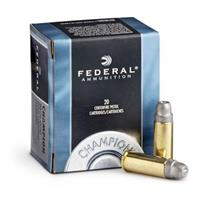 Federal Champion .32 H&R Magnum 95 Grain Lead Semi Wadcutter, 20 rounds
