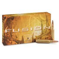 Federal Fusion, 7mm-08 Remington, Fusion SP, 140 Grain, 20 Rounds -