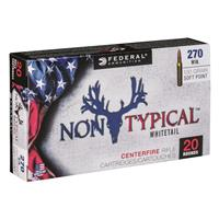 Federal Non-Typical, .270 Winchester, SP, 130 Grain, 20 Rounds
