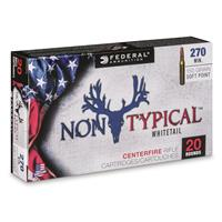 Federal Non-Typical, .270 Winchester, SP, 150 Grain, 20 Rounds