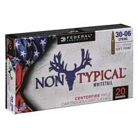 Federal, Non-Typical, .30-06 Springfield, SP, 150 Grain, 20 Rounds