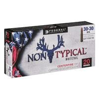 Federal Non-Typical, .30-30, SP, 170 Grain, 20 Rounds