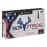 Federal, Non-Typical, .308 Winchester, SP, 150 Grain, 20 Rounds