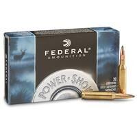 Federal Power-Shok, 7mm-08 Rem., SHCSP, 150 Grain, 20 Rounds