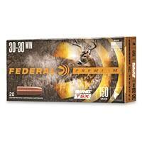 Federal Premium Barnes TSX, .30-30 Win., Triple-Shock X HP, 150 Grain, 20 Rounds