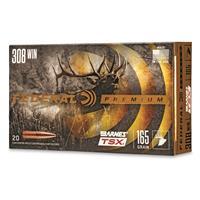 Federal Premium Barnes TSX, .308 Win., Triple-Shock X HP, 165 Grain, 20 Rounds