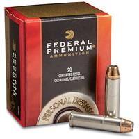 Federal Premium Personal Defense, .357 Magnum, Hydra-Shok JHP, 158 Grain, 20 Rounds