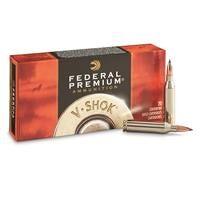 Federal Premium V-Shok, .243 Winchester, NBT Varmint, 55 Grain, 20 Rounds