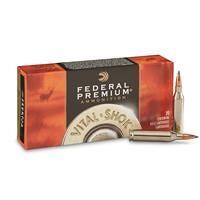 Federal Premium Vital-Shok, .243 Winchester, NBT Hunting, 95 Grain, 20 Rounds
