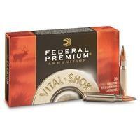 Federal Premium, Vital-Shok, .308 Winchester, NP, 180 Grain, 20 Rounds