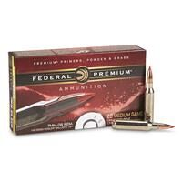 Federal Premium Vital-Shok, 7mm-08 Remington, NBT Hunting, 140 Grain, 20 Rounds
