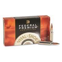 Federal, Premium Vital-Shok Nosler Partition, .308 Winchester, NP, 150 Grain, 20 Rounds
