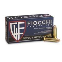 Fiocchi, .357 Magnum, FMJ-TC, 142 Grain, 50 Rounds