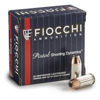 Fiocchi Extrema, .380 ACP, XTP HP, 90 Grain, 25 Rounds