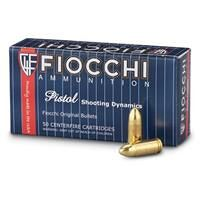 Fiocchi Shooting Dynamics, .32 ACP, FMJ, 73 Grain, 50 Rounds