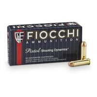 Fiocchi Shooting Dynamics, .38 Special, FMJ, 130 Grain, 50 Rounds