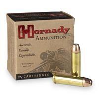 Hornady Custom, .357 Magnum, JHP/XTP, 158 Grain, 25 Rounds