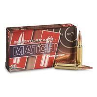 Hornady, Superformance, .308 Winchester, ELD Match, 168 Grain, 20 Rounds