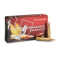 Hornady Superformance Varmint, .22-250 Remington, V-MAX, 50 Grain, 20 Rounds