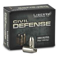 Liberty, .380 ACP, HP, 50 Grain, 20 Rounds