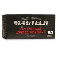 MagTech First Defense, .300 AAC Blackout, OTM, 115 Grain, 50 Rounds