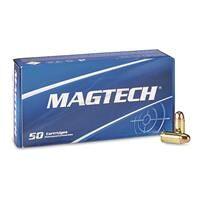 Magtech, .380 ACP, FMC, 95 Grain, 50 Rounds