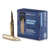 PPU, .338 Lapua Magnum, HPBT, 250 Grain, 10 Rounds