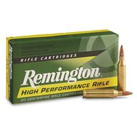 Remington, .243 Win., PSP, 80 Grain, 20 Rounds