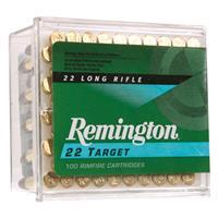 Remington 22 Target, .22LR, RN, 40 Grain, 100 Rounds