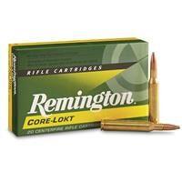 Remington CORE-LOKT, .270 Winchester, PSP, 130 Grain, 20 Rounds
