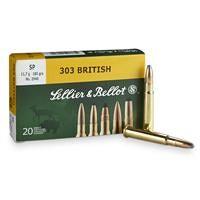 Sellier & Bellot, .303 British, SP, 180 Grain, 20 Rounds