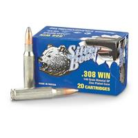 Silver Bear, .308 Winchester, SP, 140 Grain, 20 Rounds