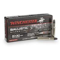 Winchester Ballistic Silvertip, .30-30 Winchester, BST, 150 Grain 20 Rounds