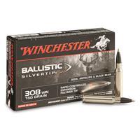 Winchester Ballistic Silvertip, .308 Winchester, BST, 150 Grain, 20 Rounds