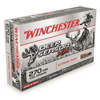 Winchester Deer Season XP, .270 Winchester, Polymer-Tipped Extreme Point, 130 Grain, 20 Rounds