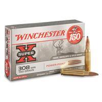 Winchester Super-X, .308 Winchester, PP, 150 Grain, 20 Rounds