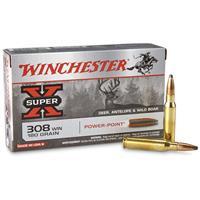 Winchester Super-X, .308 Winchester, PP, 180 Grain, 20 Rounds