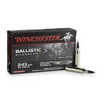 Winchester Supreme Ballistic Silvertip, .243 Winchester, BST, 95 Grain, 20 Rounds