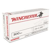 Winchester White Box, .300 AAC Blackout, Open Tip, 125 Grain, 20 Rounds