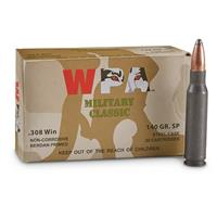 Wolf Military Classic, .308, SP, 140 Grain, 100 Rounds