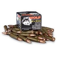 Wolf Performance, 7.62x39, SP, 125 Grain, 20 Rounds