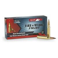 Aguila, .308 (7.62x51mm), FMJBT, 150 Grain, 20 Rounds