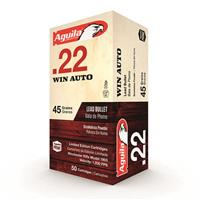 Aguila Limited Edition, .22 Winchester Auto, LRN, 45 Grain, 50 Rounds