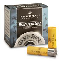 "Federal, Game-Shok Heavy Field, 20 Gauge, 2 3/4"", 1 oz. Shotshell, 25 Rounds"