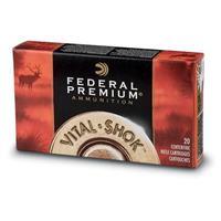 Federal Premium V-Shok Varmint & Predator, .223 Remington, Nosler Ballistic Tip, 55 Grain, 20 Rounds
