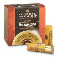 "Federal Premium Wing-Shok Upland Loads, 20 Gauge, 2 3/4"", 1 oz., 25 Rounds"