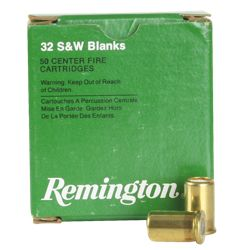 Remington Blank Handgun Ammo - .32 S&W - 50 Rounds